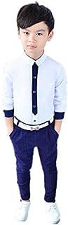 男の子シャツ キッズトッブス 長袖 卒業式/発表会/七五三/子供着演出舞台フォーマル100~140cm