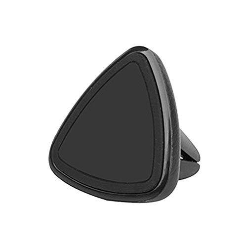 Suporte magnético universal para carro para GPS e mini tablet (preto)