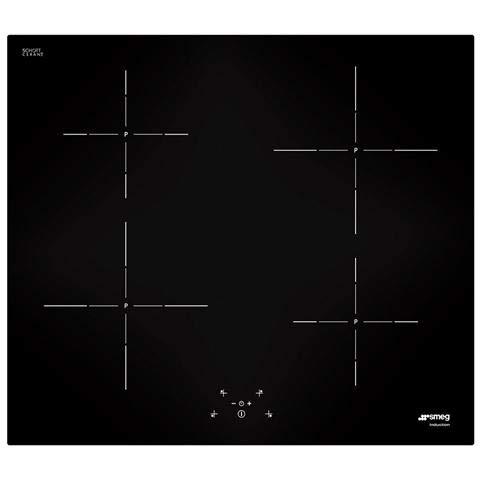 Smeg SI5642D piano cottura Nero Incasso A induzione