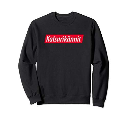 Kalsarikännit: Saufen in der Unterhose! Finnisch Bier Alk Sweatshirt