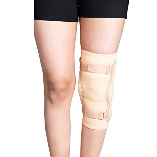 WC_ Knee Support Brace with Hinged Stabilizer, Knee Brace for Running, Jogging, Sports, Joint Pain Relief, Arthritis and Injury Recovery for Men and Women