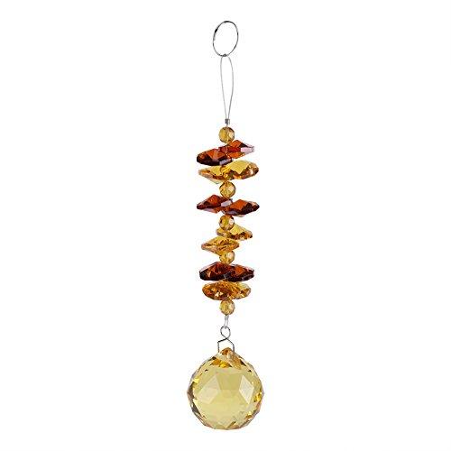 Jadpes kristallen hanger, helder, handgemaakte doe-het-zelf decoraties raam hangen, kristallen parels, ketting, ornament, bruiloft, decoratie, hanger, cadeau