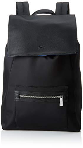 s.Oliver (Bags Herren 97.902.94.2108 Rucksack Schwarz (Black)