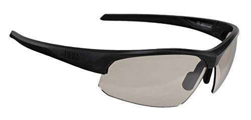 BBB Cycling Sportbrille Impress PH austauschbaren photochromen Gläsern|Fahrradbrille für Sonnenschutz|Polycarbonat-Rahmen|Einstellbarer Nasenbügel