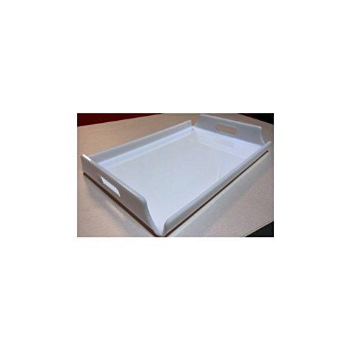 Fimel Vassoio Mis.440X300 in PLEX Bianco SP5MM