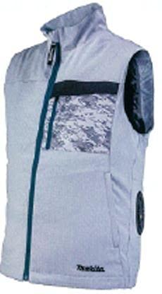 マキタ 2021年モデル 充電式ファンベスト FV213DZM グレー 空調服のみ 作業服 作業着 FV213DZ