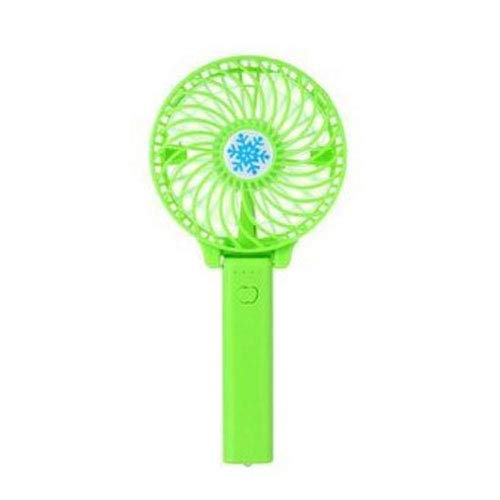 ZLMFK Handheld Electric USB Fans Mini Portable Outdoor Fan With Rechargeable Foldable Handle Desktop For Home And Travel