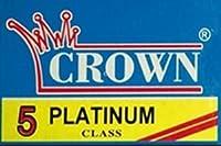 Crown Platinum 両刃替刃 5枚入り(5枚入り1 個セット)【並行輸入品】