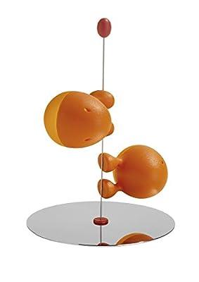 "Alessi""Lilliput"" Salt and Pepper Set, Orange by Alessi"