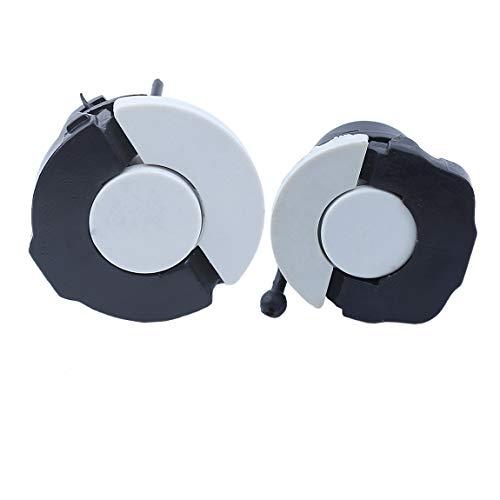 Haishine Tapa de llenado de gasóleo de Combustible para Motosierra STIHL MS200 MS210 MS230 MS250 C MS260 MS380
