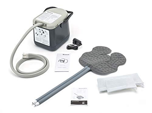 Ossur Cold Rush Compact Therapy Machine System with Universal Pad- Ergonomic, Adjustable Wrap Pad Included- Quiet, Lightweight and Strong Cryotherapy Freeze Kit Pump