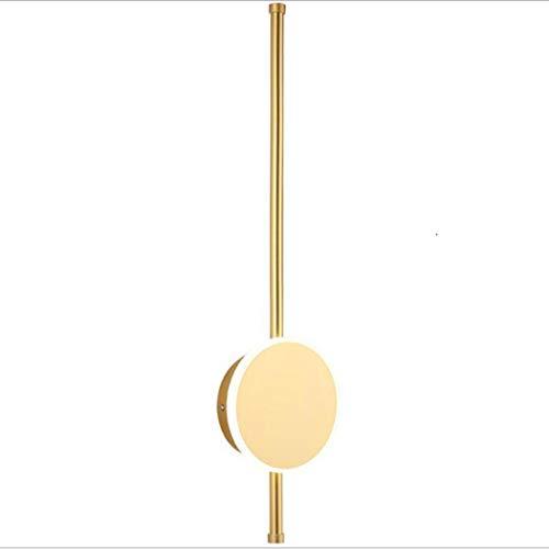 Vanity Moderne led-lamp, 20 inch, spiegel-make-up met lange oogschaduw, badkamer, toiletkast, verlichting voor slaapkamer, vanity tafel, goud