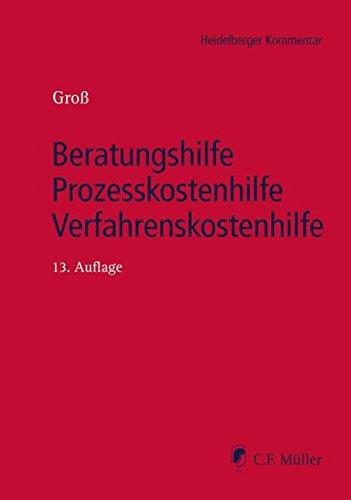 Beratungshilfe - Prozesskostenhilfe - Verfahrenskostenhilfe