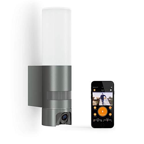 Steinel L 620 Cam Kameraleuchte: Außenleuchte, Gegensprechanlage, Überwachungskamera, Infrarot-Bewegungsmelder, Aluminium, 13.5 W, Anthrazit, 065829