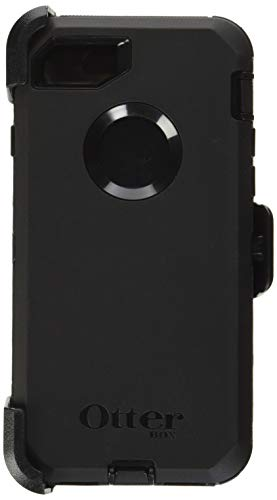 OtterBox DEFENDER SERIES Case for iPhone SE (2nd gen) and iPhone 8/7 (NOT PLUS) - Frustration Free Packaging - BLACK