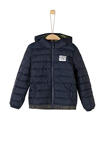s.Oliver RED Label Jungen Funktionsjacke in Light Down-Optik Navy 128