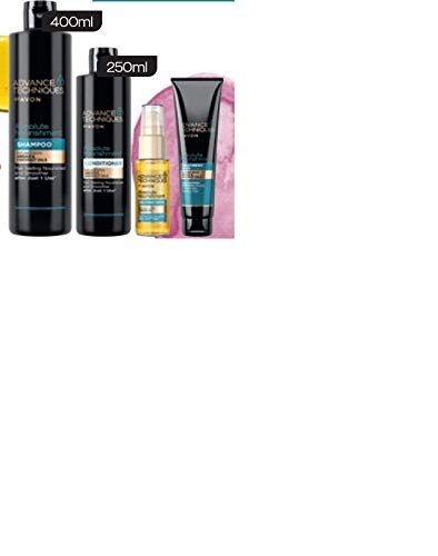 AVON Advance Techniques ABSOLUTE NOURISHMENT Arganöl-Haarpflegeset 4tlg mit Argan- & Kokosöl UVP 24,50 €