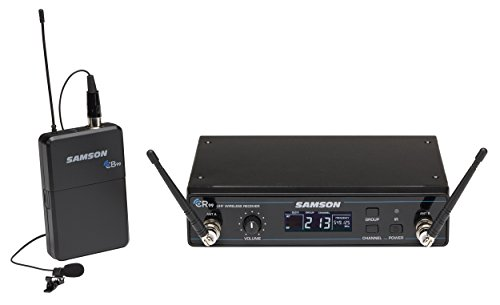 Samson Concert 99 Presentation Wireless System with LM10 Lavalier Microphone, K Band