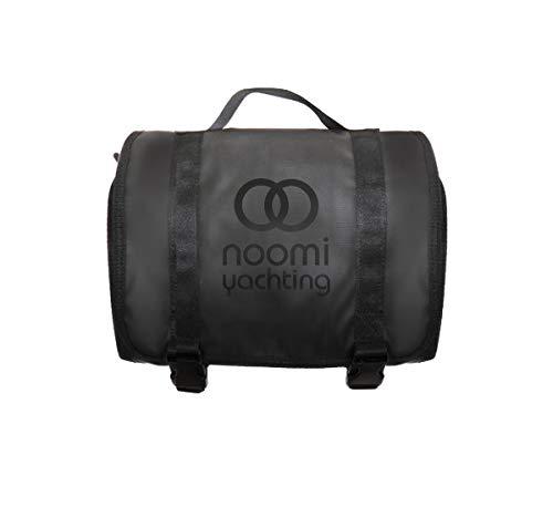 Noomi Beautycase en Tissu imperméable idéal pour la Nautique et pour l'utilisation Quotidienne Beauty Case, 28 cm, Noir