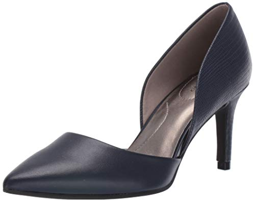 Bandolino Footwear Women's Grenow Pump, Navy, 5