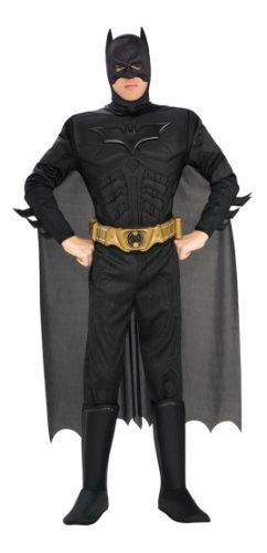 RUBIE'S - Déguisement Homme BATMAN - Bat Costume - Noir, Multicoloured, XL