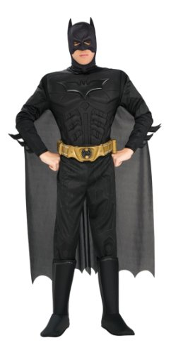 BATMAN ~ The Dark KnightTM (Muscle Chest) - Adult Costume Men : X LARGE