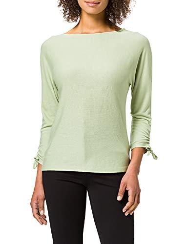 Street One Damen 316018 T-Shirt, Faded Green, 38