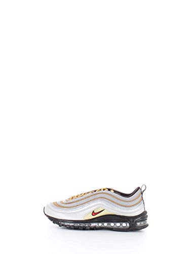 Nike Sneakers Air Max 97 SSL Argento Oro Nero Rosso BV0306-001 (42 - Argento)