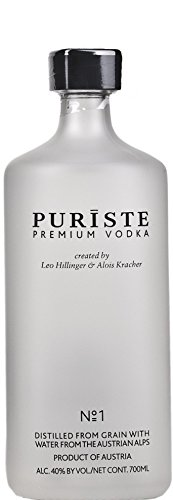 Puriste Premium Vodka No. 1 40% Vol. 0,7 l