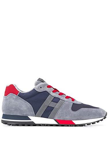 Hogan Luxury Fashion HXM3830AN51N4X50CI - Zapatillas deportivas para hombre, color azul