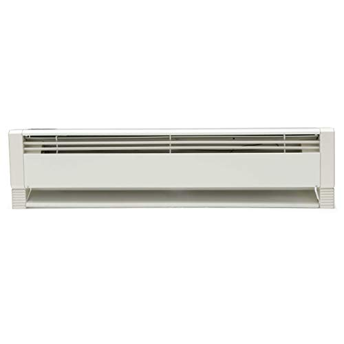 Marley HBB1254 Liquid Filled Electric Hydronic Baseboard Heater, Navajo White