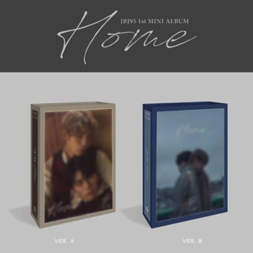 JBJ95 [HOME] 1st Mini Album 2 Ver SET+POSTER+2ea Photo Book(each 78p)+2p Book-size Photo Card +2p Photo Card+2p Transpaprent Photo Card+Tracking Number K-POP SEALED