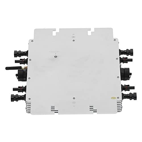 Inversor Micro Solar Wifi, Wvc-2400 Ip65 Sistema De EnergíA Fotovoltaica A Prueba...