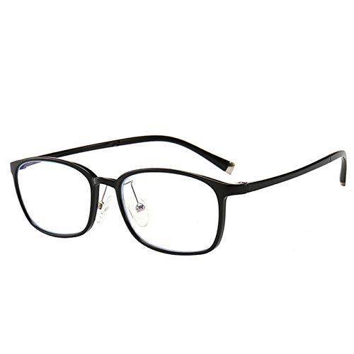 男女兼用 軽量ボディ ブルーライトカット pcメガネ?Mreechan パソコン用 度なし UVカット メンズ レディース おしゃれデザイン ビジネスシーン メガネ 眼鏡拭きシートとハードケース付き