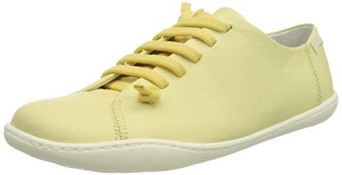 CAMPER Peu, Zapatillas Mujer, Amarillo, 38 EU