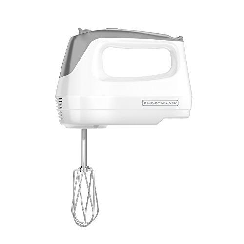 BLACK+DECKER Lightweight Hand Mixer, White,  MX1500W