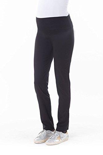 BALLOON-pantalon slim de grossesse noir (T3)