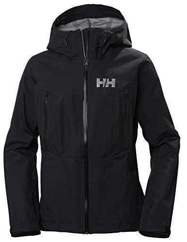 Helly Hansen W Verglas 3l Shell Jacket Veste Femme, 990 Noir, L