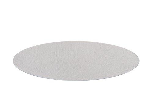 Bodenschutzmatte Unterlegmatte Bürostuhlunterlage - 100 {7900acf0baf73be3281a07ae0bd329a9b488363a162c4b1d26c80553c7f8d976} PET schadstofffrei umweltschonend - für Laminat, Parket, Fliesen und Hartböden - 90 cm rund, transparent, Antirutsch-Schicht