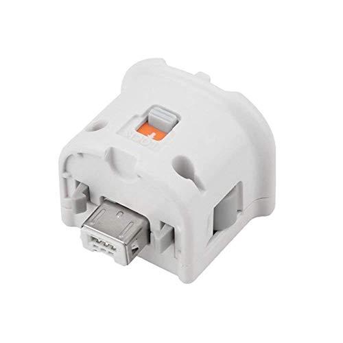 COOLEAD Adaptador Motion Plus para Wii Mando a Distancia Reemplazo Adaptador de Sensor Motion Plus para Wii Remoto Controller (Producto de Terceros) (Blanco)