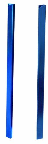 GBC 46008E - Canutillo para encuadernar a presión, 7 mm, 25 unidades, color azul