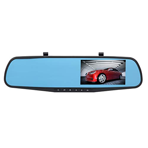Gaeirt Autokamera, Dash-Kameras mit 170 ° Weitwinkelobjektiv 1080P Full HD Video und Rückfahrkamera, Auto Video Recorder zum Alle Fahrzeugmodelle