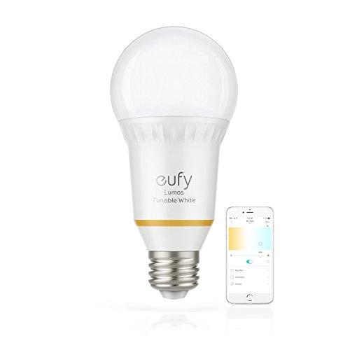 Bombilla inteligente Eufy Lumos, color blanco personalizable, Wi-fi, equivale a 60W
