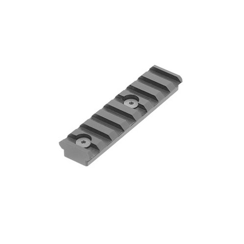 UTG Unisex_Adult Keymod 8 Slotschiene Montage Rail, Zwart, standaardformaat