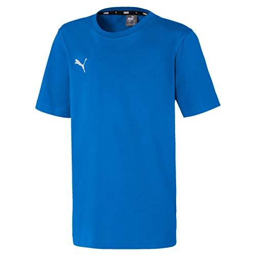 PUMA Jungen teamGOAL 23 Casuals Tee Jr T-shirt, Electric Blue Lemonade, 140