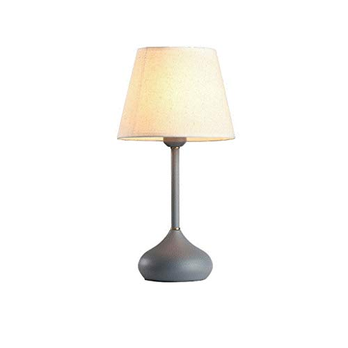 Lámparas Caliente de noche lámpara de mesa nórdica moderna simple tabla creativa de la lámpara de cerámica pantalla de la tela de la lámpara de mesa de madera Habitación Sala lámpara de mesa Lámpara d