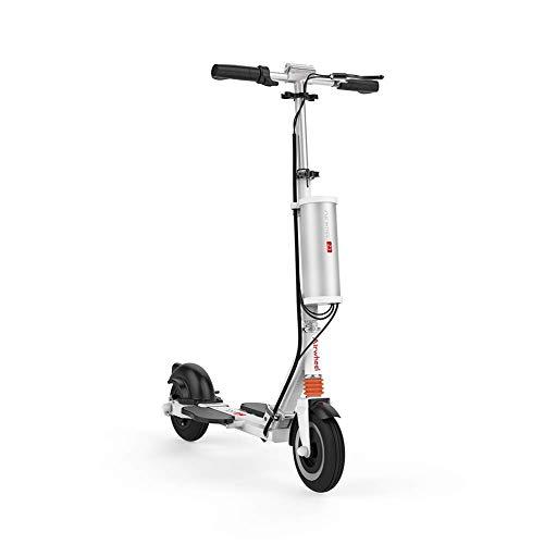 WXDP Cruiser Pro Skateboard,Elektrisch zusammenklappbar für Erwachsene Kick Scooter Ultimative kompakte USB-APP-Geschwindigkeitseinstellung mit verstellbarem Betätigungsarm-Elekt