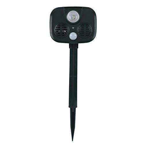 DAUERHAFT SolarAlarm portátil Alarma antirrobo Resistente a la Intemperie Peso Ligero 5.5 * 3.4 * 4.3in Alarma de 120 dB, para Proteger la Seguridad Personal