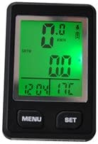Contempo Free shipping New Views Max 63% OFF Bicycle Speedometer LCD BC001: Waterproof Digital