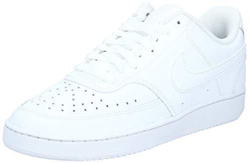Nike Herren Court Vision Lo Basketballschuhe, Weiß (White/White-White 100), 44 EU